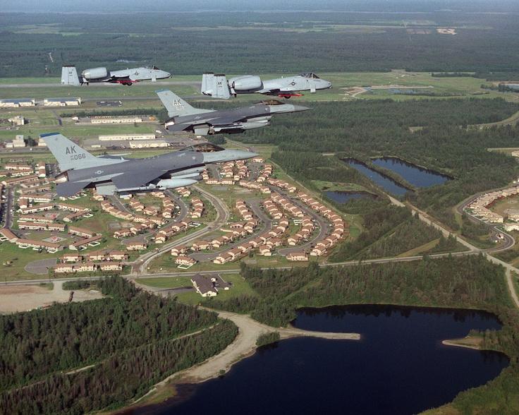 Eielson Air Force Base, Alaska Air Force Memories of