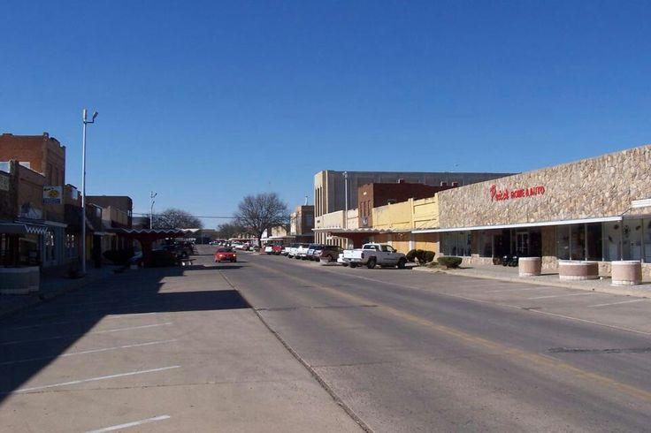 Downtown littlefield tx littlefield downtown street view