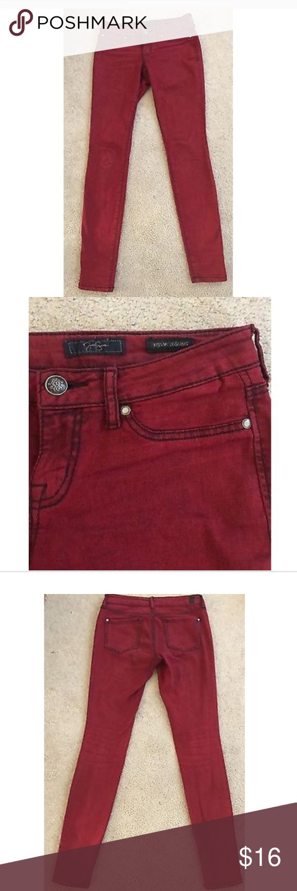 Jessica Simpson Kiss Me Super Skinny Jeans, Red Jessica Simpson Womens Kiss Me Super Skinny Jeans, Red. Size 26. In very good condition. Worn maybe twice. Jessica Simpson Jeans Skinny