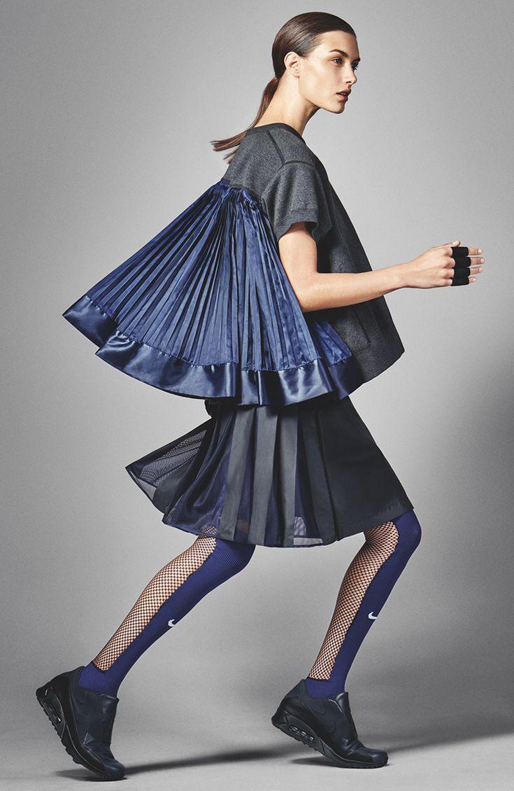 NikeLab collaboration with Sacai designer Chitose Abe - Photo: Courtesy of Nike