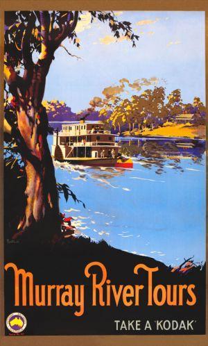 Murray River Tours www.printism.com.au #realartinprint