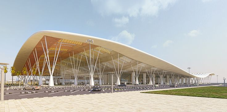 Kempegowda International Airport Terminal 1 Expansion in Bangalore, India by HOK
