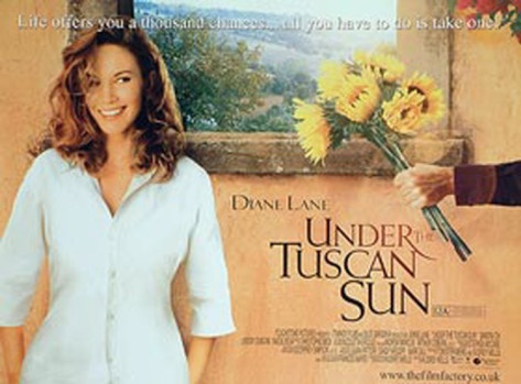Under The Tuscan Sun-Love all things Italian, and this movie is great!