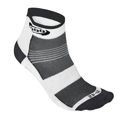 calcetines-ciclismo-technofeet-blanco-negro