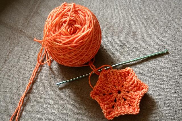 Crochet Hexipuffs