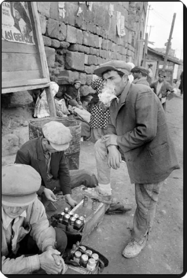 1957, Ayakkabı boyacısı  #birzamanlar #nostalji #istanlook