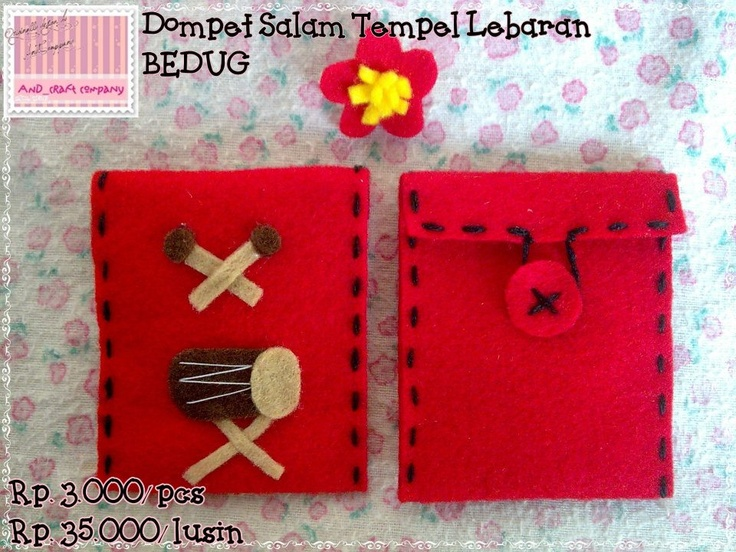 This is a wallet, i did it my self and i sell @my blog http://andcraftcompany.blogspot.com/2012/08/dompet-salam-tempel-lebaran.html#