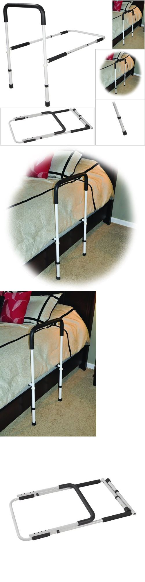 Handles and Rails: Bed Assist Handle White Adjustable Height ...