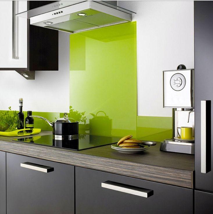 17 beste ideeën over glasrückwand küche op pinterest