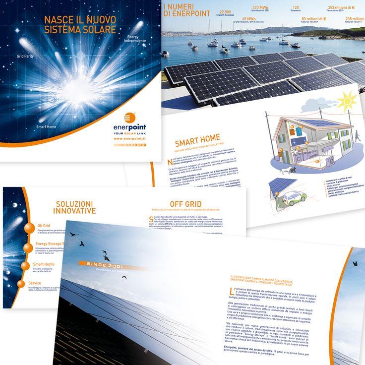 ENERPOINT - Company Profile Impaginazione grafica Creativa - fotoritocco