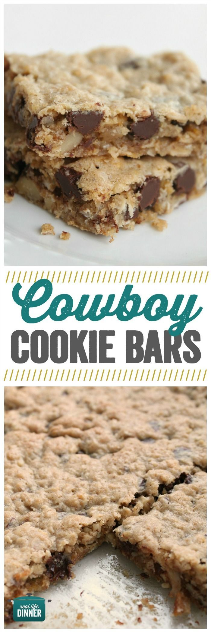 A faster way to make delicious Cowboy Cookies. Soft and Chewy with just the right amount of crunch and chocolate. ~ http://reallifedinner.com