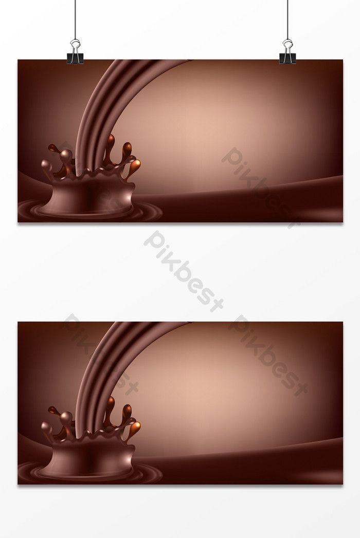 الشوكولاته سكب تأثير البداية صورة الخلفية خلفيات Psd تحميل مجاني Pikbest Splash Effect Background Images Background