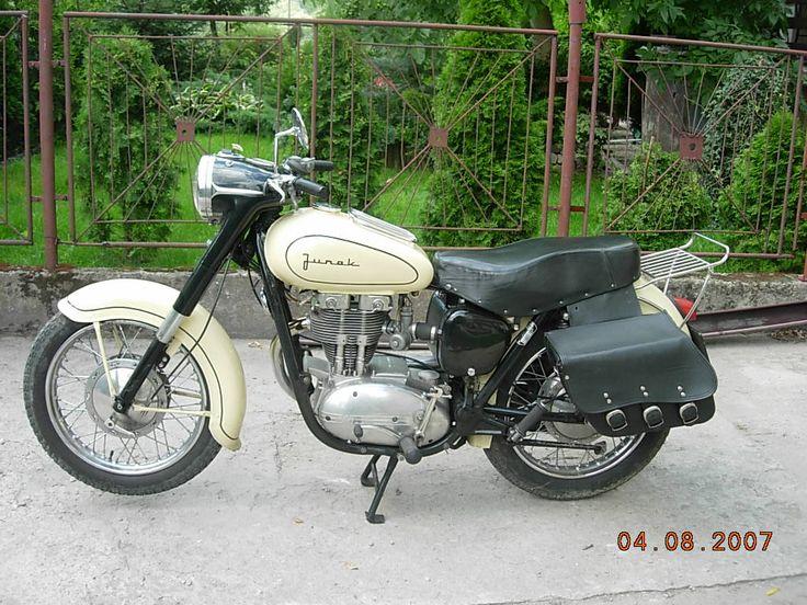 JUNAK M10 - polnisches Motorrad aus sozialistischen Zeiten
