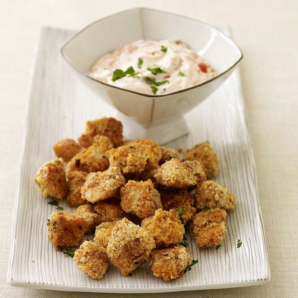 sunglasses black Weight Watchers Chicken Poppers  Appetizers