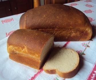 Receita de Pão caseiro com fermentação natural - Show de Receitas