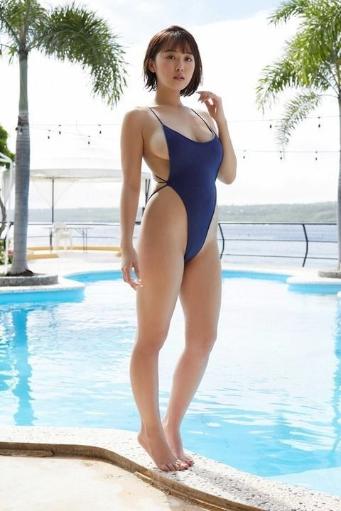 Pin by Pee Tung on Girl | Beautiful asian girls, Blue swimsuit, Beautiful  asian women