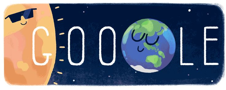 Total Solar Eclipse 2016 at #GoogleDoodle  It's a bird, it's a plane, it's a total solar eclipse! A solar eclipse happens when the moon's orbit crosses between the Earth and the Sun, as Doodler Olivia Huynh shows in today's animation.
