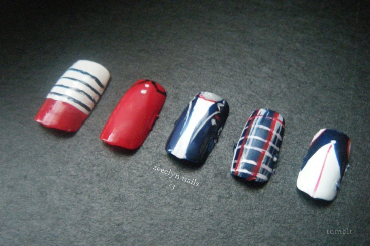 One Direction Nails: Directioner