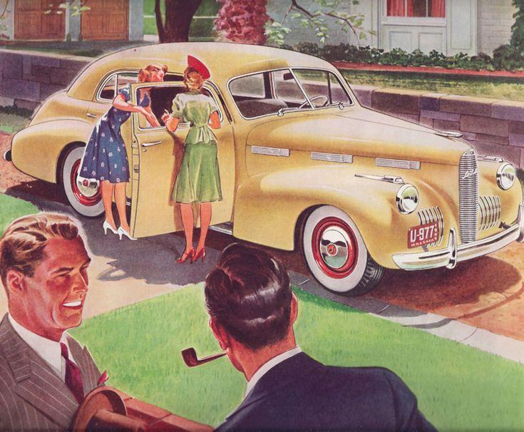 The Envy of Your Friends La Salle Car Ad 1940