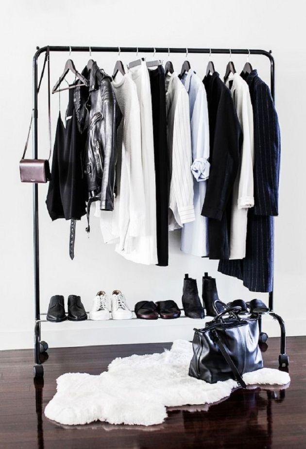 stylish minimalist closet design ideas