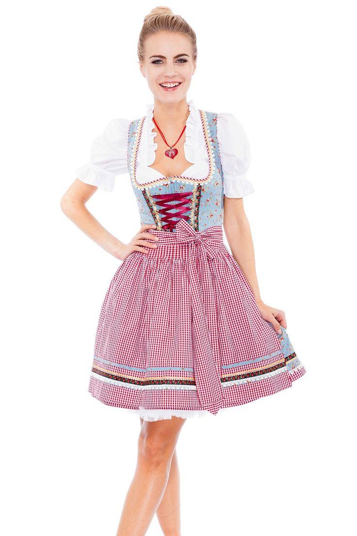 Kruger MADL Ladies Dirndl Dress 46735: Amazon.de: Clothing ...
