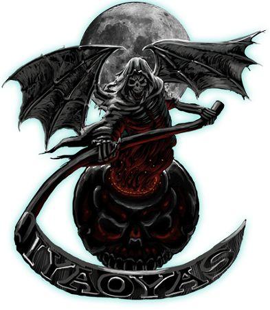 Military Ordnance Grim Reaper Iyaoyas Shirt 19 95