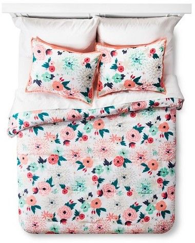 Xhilaration® Multi Floral Printed Comforter Set Multicolor - XhilarationTM