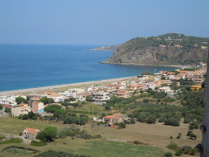 View from castle at Milazzo, Sicily.