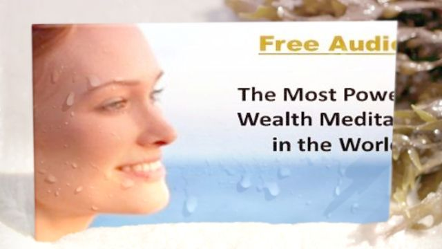 Visit http://upvir.al/21299/lp21299 to claim your free MP3 to discover how to manifest wealth and finally realize your dreams