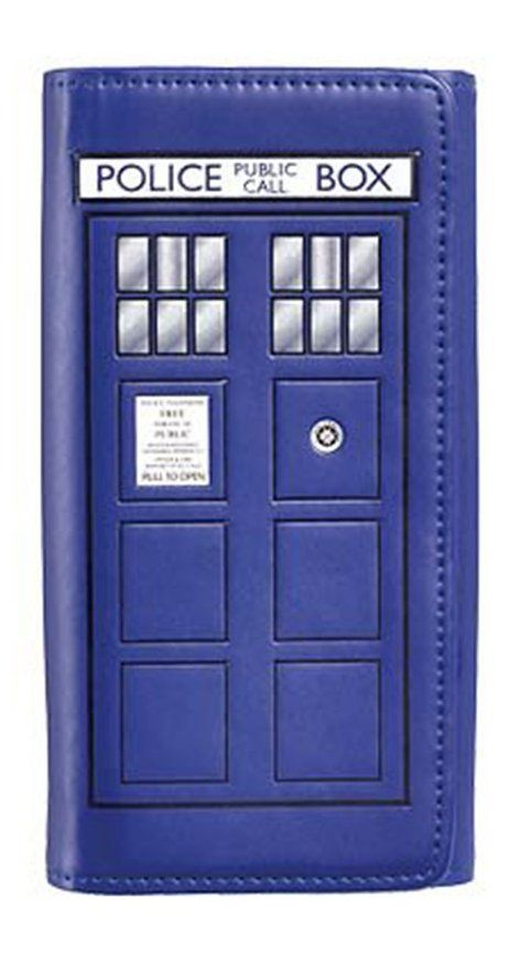 Doctor Who TARDIS Embossed Flap Wallet! #DoctorWho #Wallet