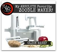 MY Favorite Zoodle Maker!