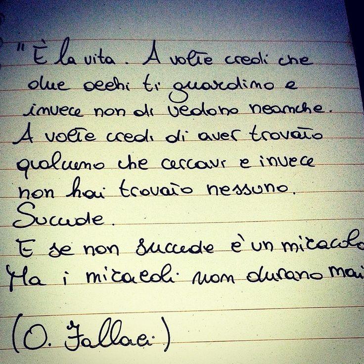 Oriana Fallaci - Malinconia - Letteratura