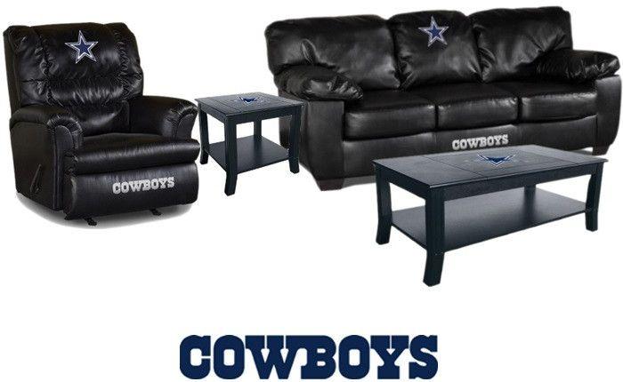 Dallas cowboys nfl fanatic fan cave set cowboys for Furniture one dallas