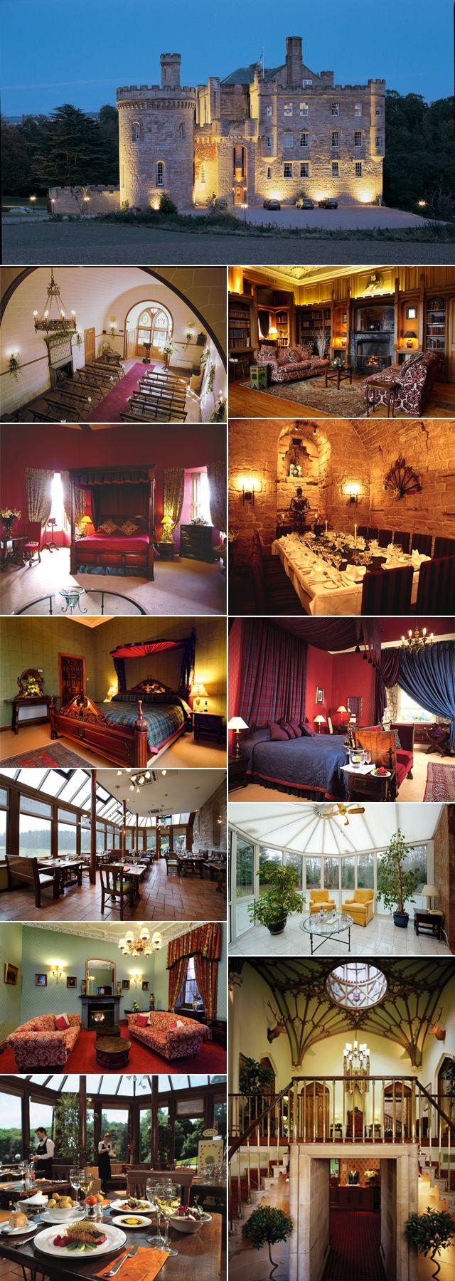 Perfect venue: Dalhousie Castle Edinburgh