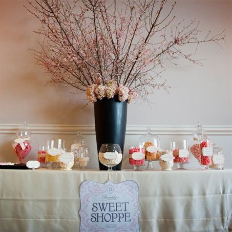 44 Best Candy Buffet Centerpieces Images On Pinterest