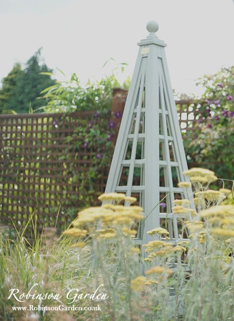 133 best images about garden trellis obelisk on pinterest for Garden obelisk designs