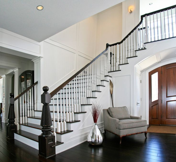 One Of My Dream Houses Is The Momu0027s House In Parent Trap. This Staircase  Reminds Me Of That.