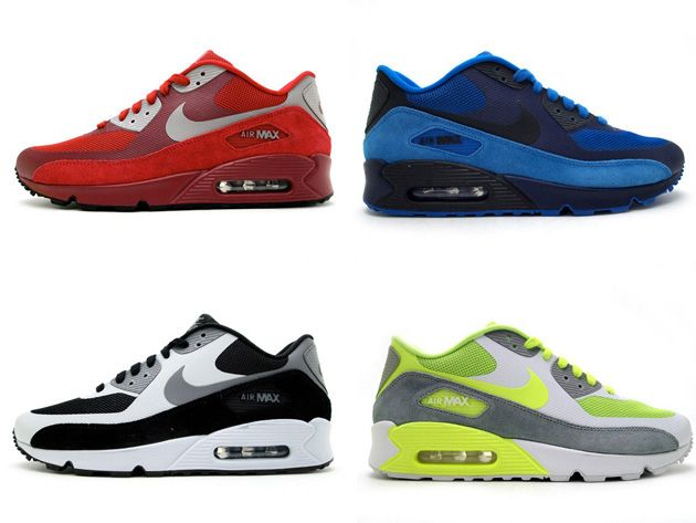 Nike Air Max 90 Hyperfuse - Suede Pack