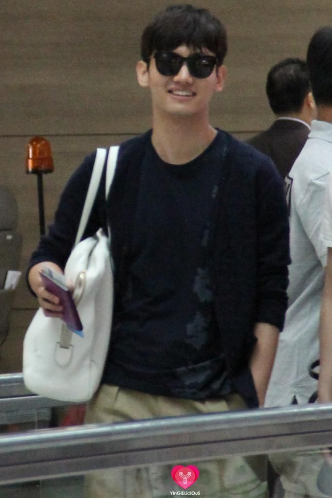 130719 Changmin in Incheon ging to Shanghai photo by yingielicious