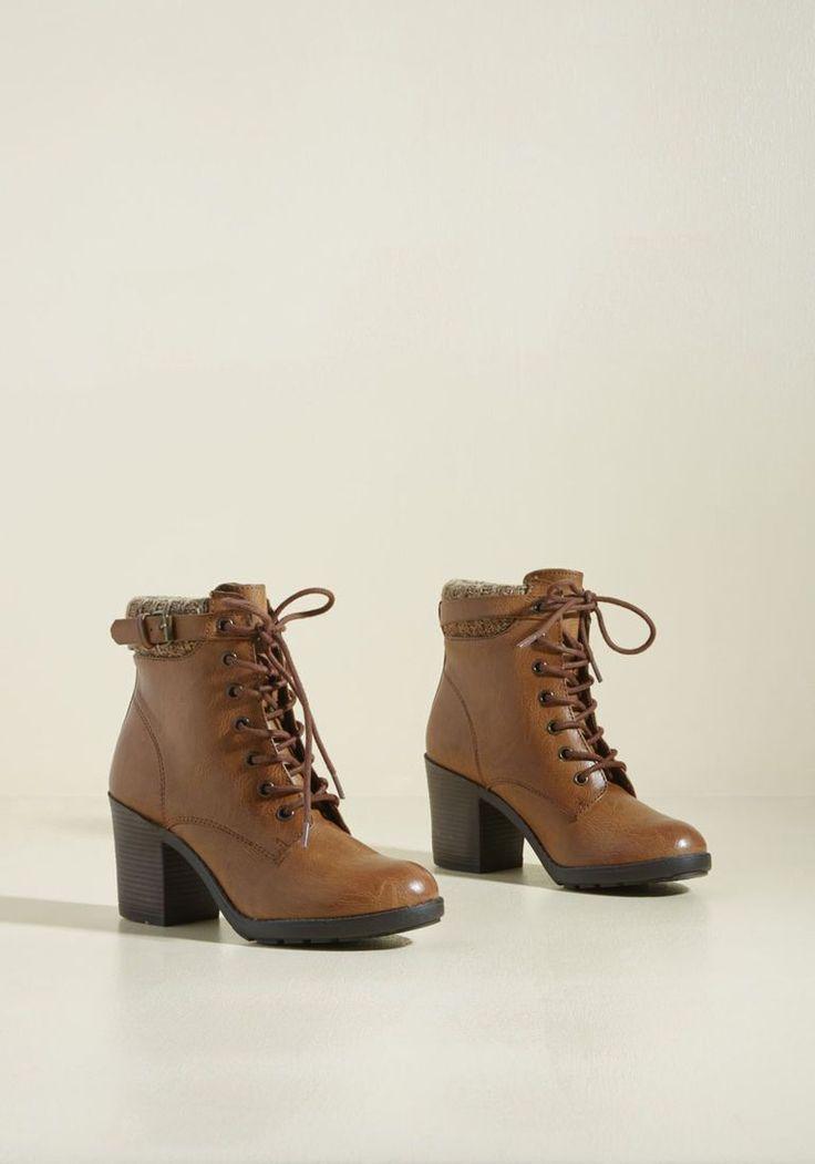 Collecting My Trots Block Heel Bootie. Zapatos Baratos, Zapatos Mujer,  Comprar ...