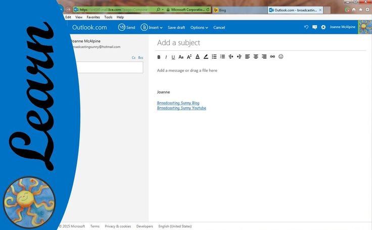 how to put your signature in outlook