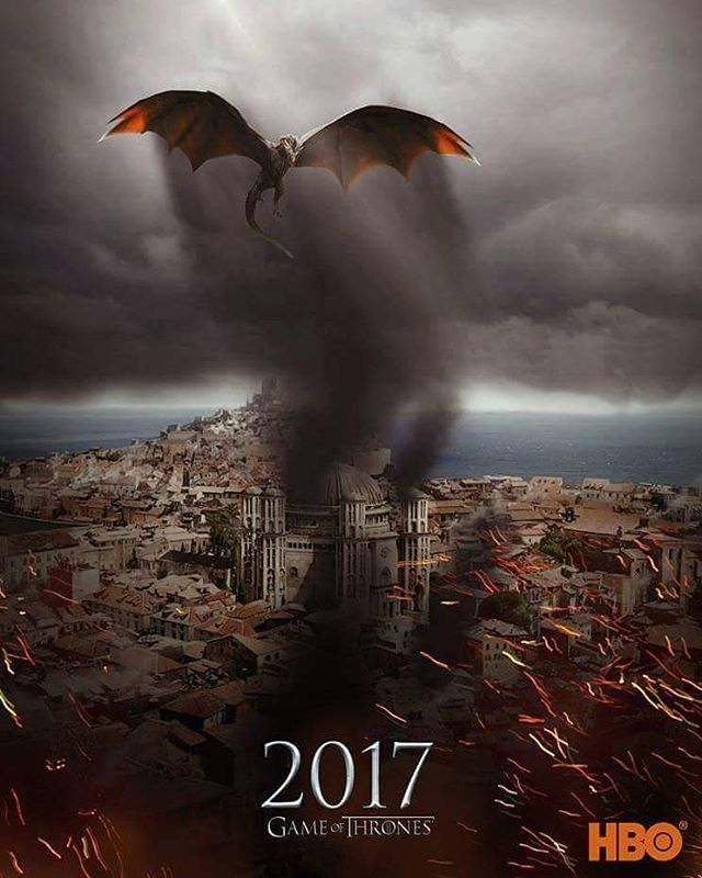 Favourite TV show! GoT Season 7 #Fire&Blood