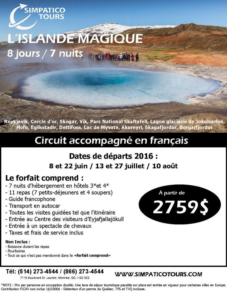 #voyages, #vacances, #europe, #tourisme, #islande, #simpaticotours