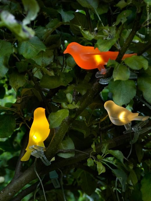 Aren T These Bird Lights So Cute From Ikea They Are Solar