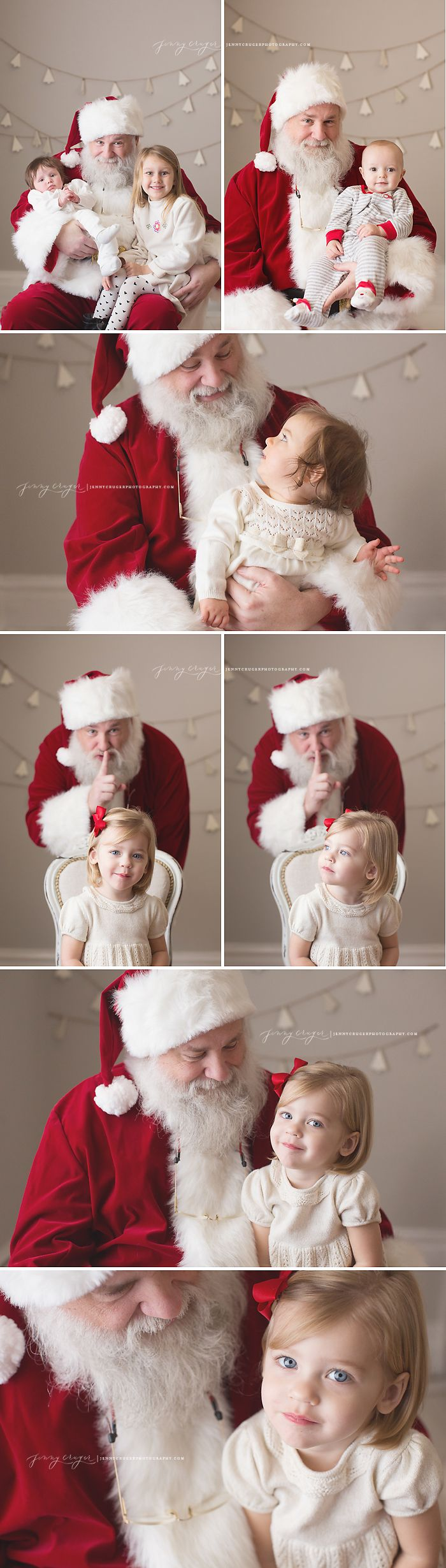 nashville santa photos   jenny cruger photography