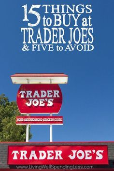 Trader Joe's is known for good food and great prices, but it is this quirky grocery store everything it is cracked up to be?  Don't miss this super-informative post for the full scoop on all things Trader Joe's, including the 15 things you'll want to buy, and a few you might want to avoid!  (Fair warning--it's long!)
