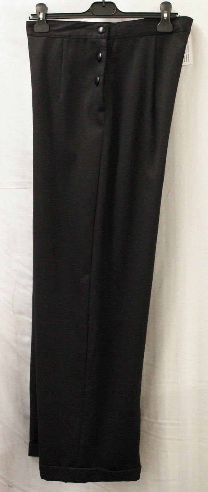 Womens 1940s high waist/wide leg #black #trousers wwii ww2  #reenactment lindy ho,  View more on the LINK: http://www.zeppy.io/product/gb/2/322292642014/