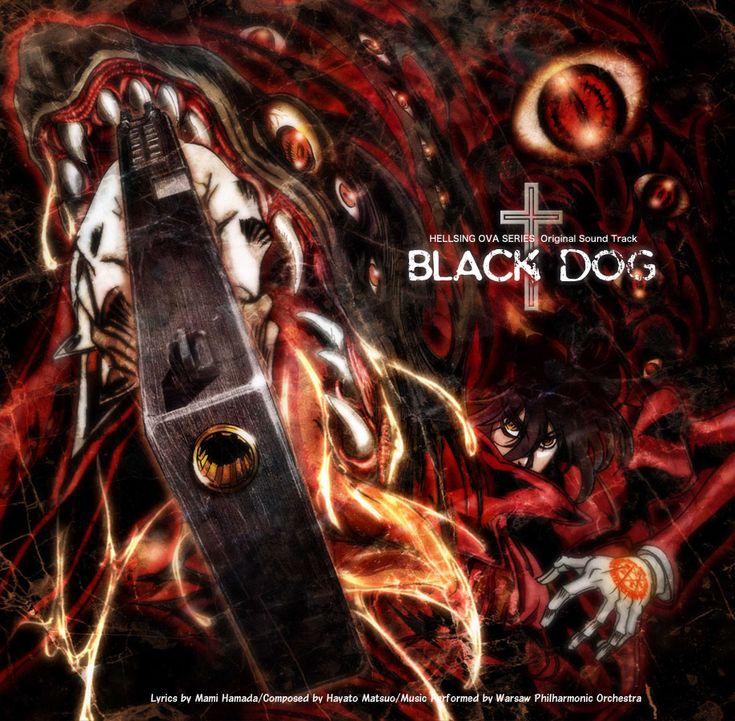 Hellsing Album Cover Art - Black Dog