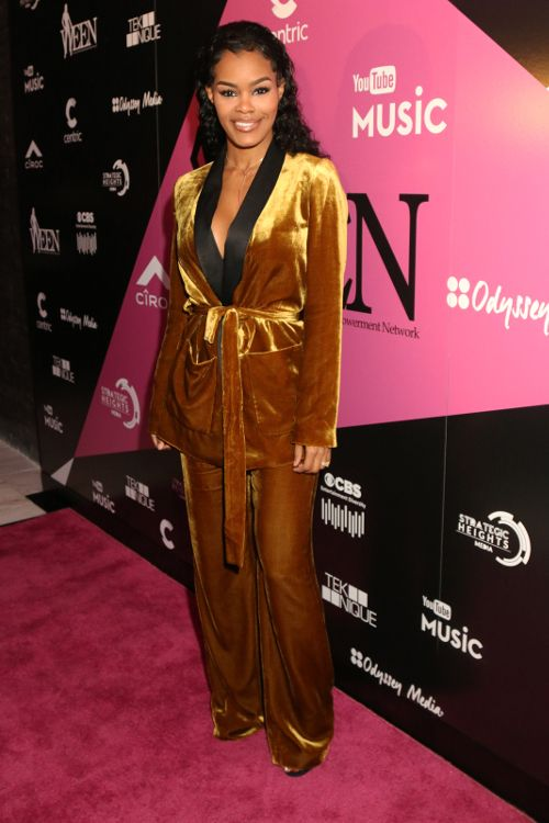 Lil Kim Thanks God, Teyana Taylor Holds Back Tears & Meagan Good Offers Encouraging Words During WEEN Awards Acceptance Speeches | The Young, Black, and Fabulous®