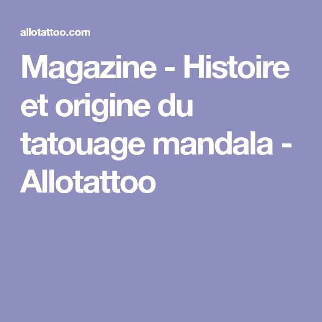 Magazine - Histoire et origine du tatouage mandala - Allotattoo